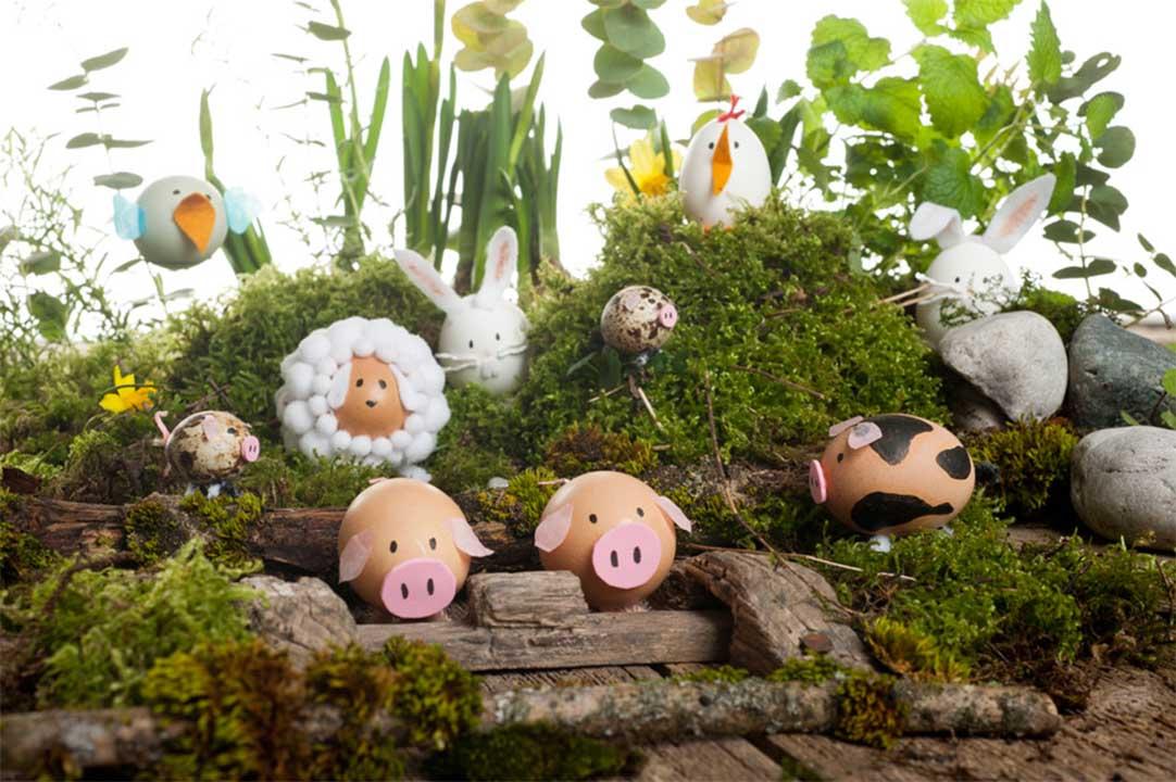 Egg Shell Easter Decor
