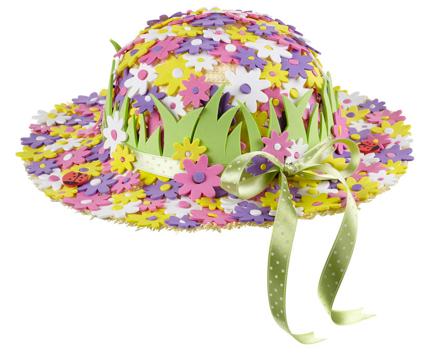 Flower Easter Bonnet