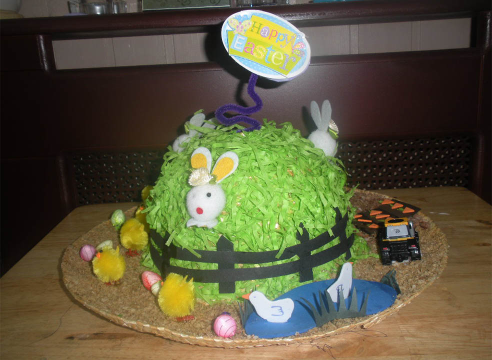 Funky Easter Hat