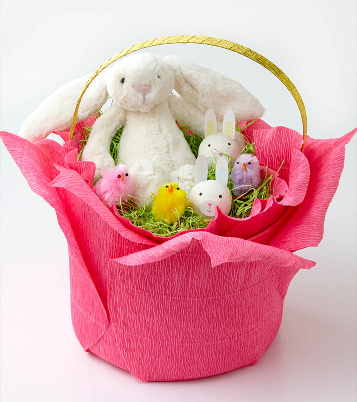 Handmade Easter Basket for Kids