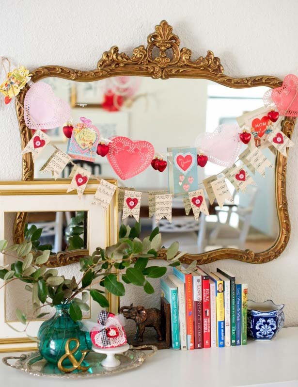 Heart Garland Hanging Decor