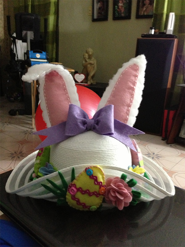 Homemade Easter Hat