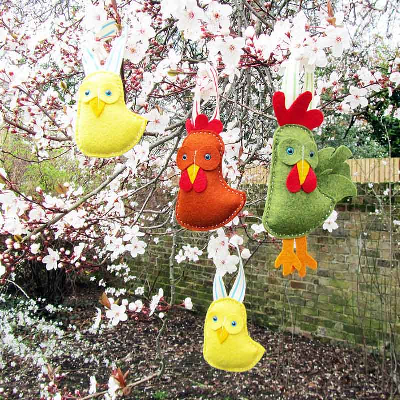 Outdoor Easter Decoration