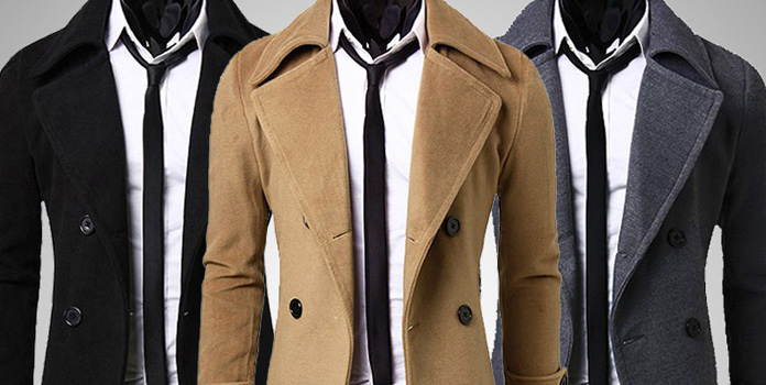 Stylish Double Breasted Trench Coat