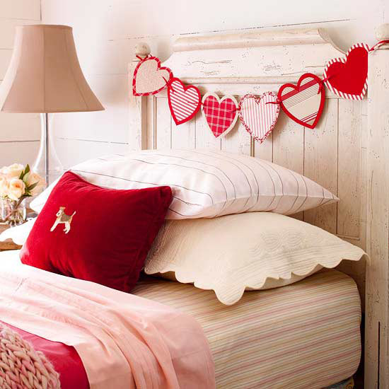 Valentine Bedroom Decoration
