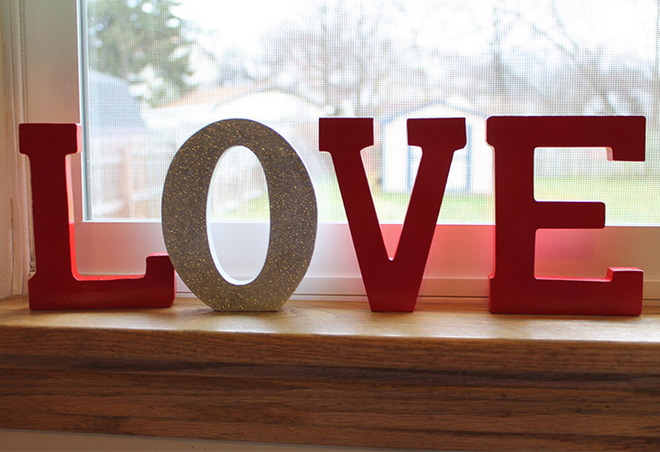 Valentine Love Decoration