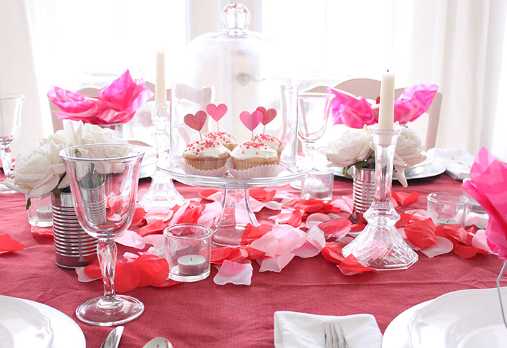 Valentine Table Centerpiece