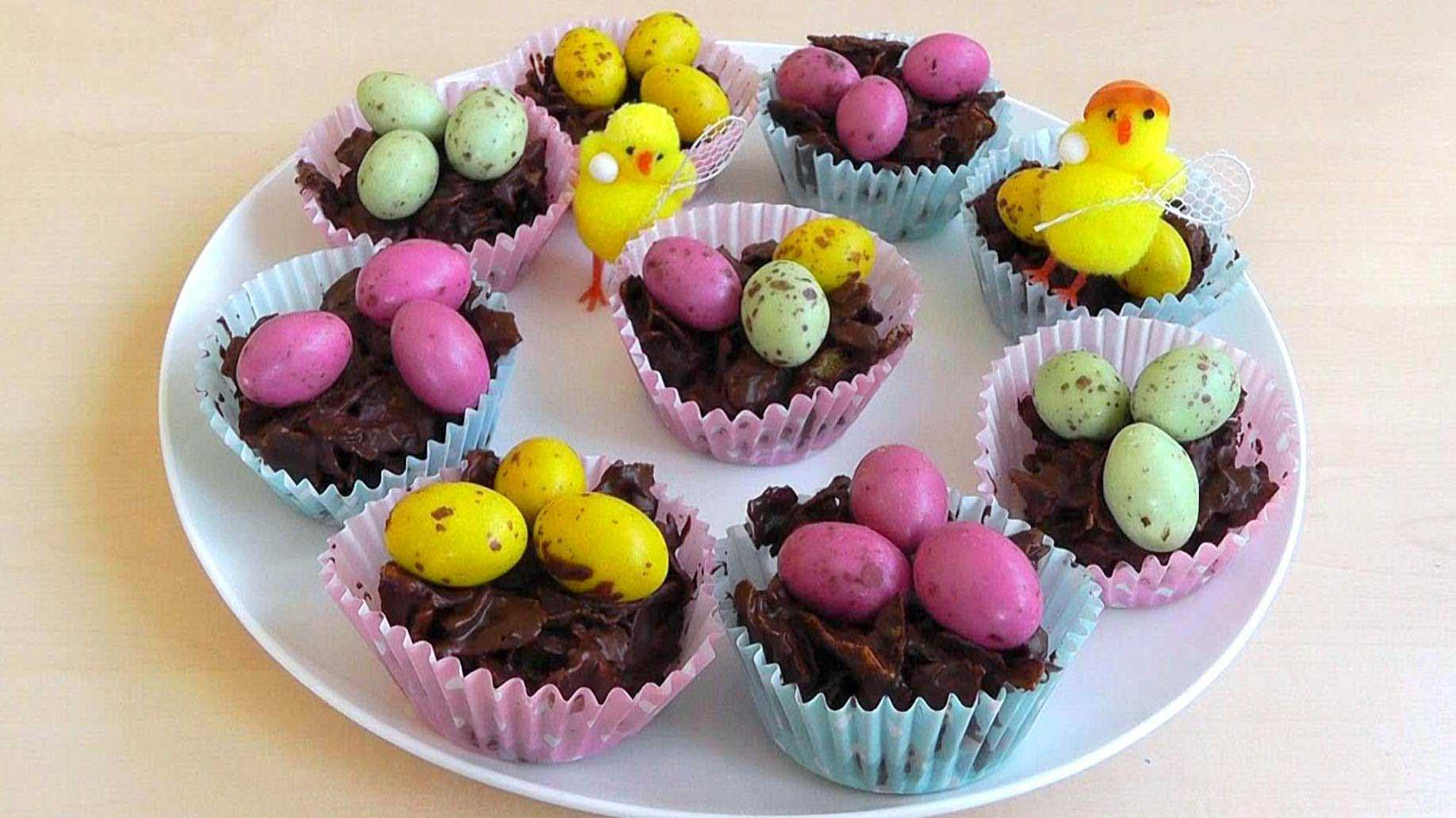 Easter Chocolate Cornflakes Cake