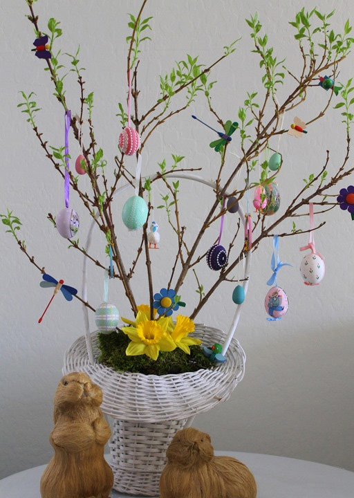 Easter Green Tree