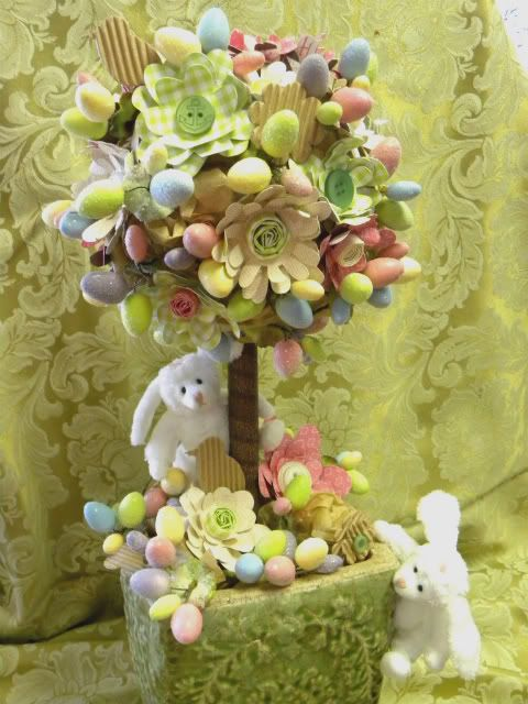 Easter Topiary Decoration