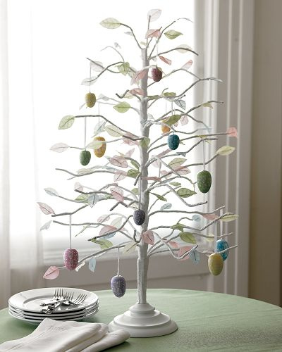 Elegant Easter Egg Tree As Table Centerpiece