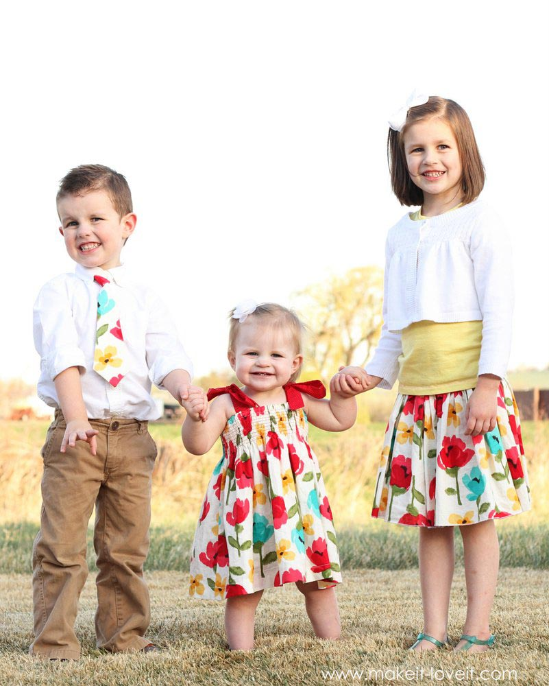 Family Easter Outfit for Church