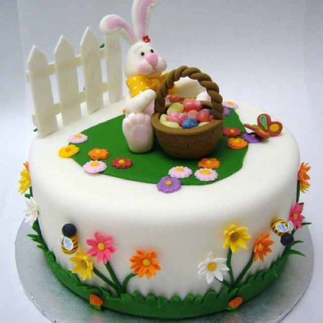 Fun Fondant Cake Decoration