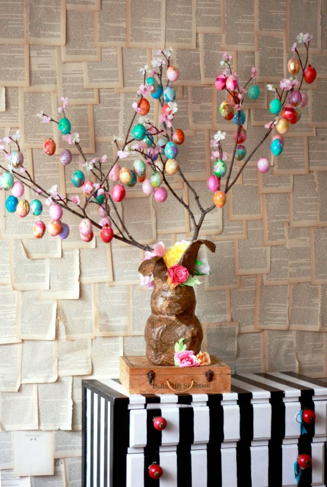 German Easter Tree Decoration