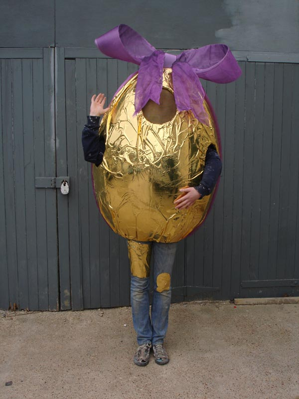 Giant Easter Egg Costume
