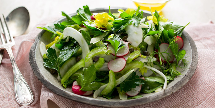 Spring Salad With Herbs