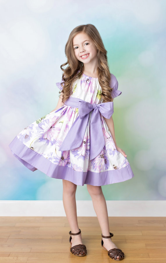 Spring Style Easter Dress for Girls