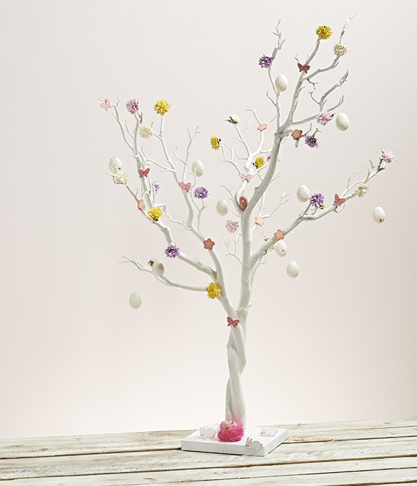 White Easter Tree