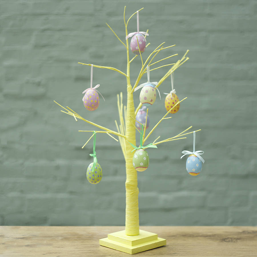 Yellow Easter Egg Tree