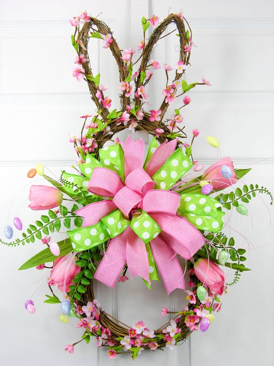 Door Bunny Wreath