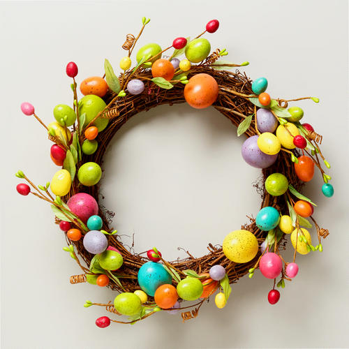 Easter Egg Garland Decorjpg