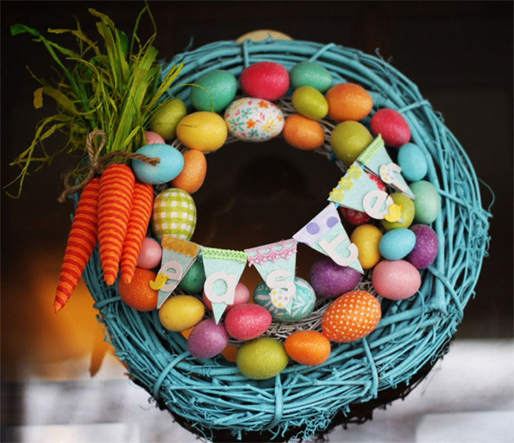 Outdoor Spring Wreath