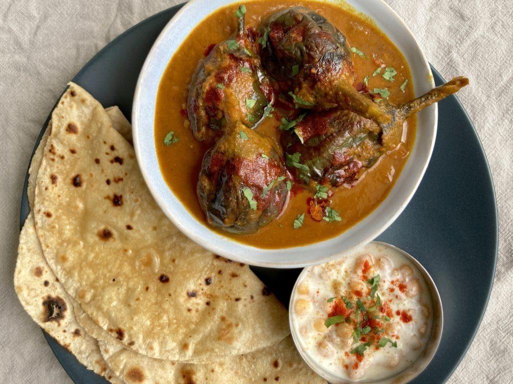 Kashmiri Khatte Baingan Indian Recipes
