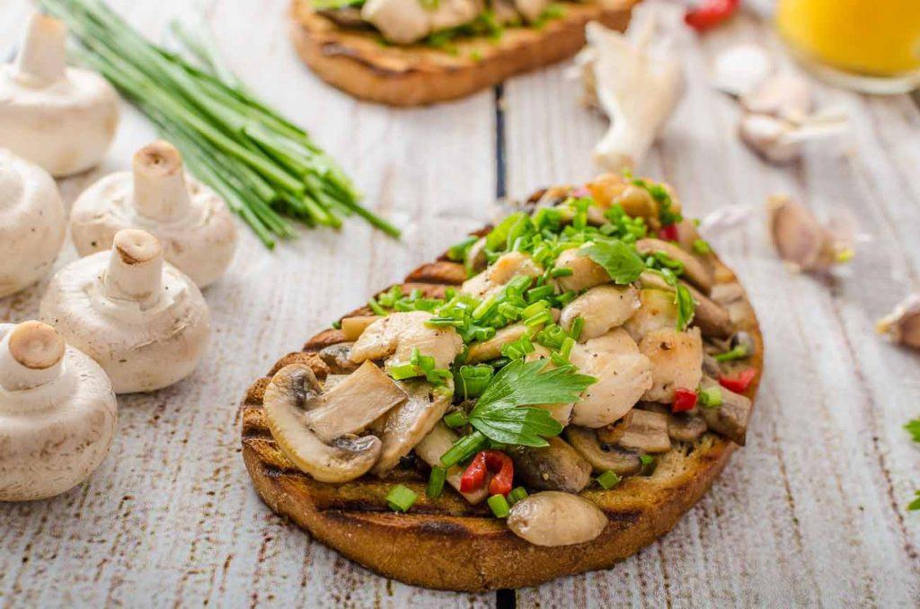Mushroom Masala Toast best indian veg recipe