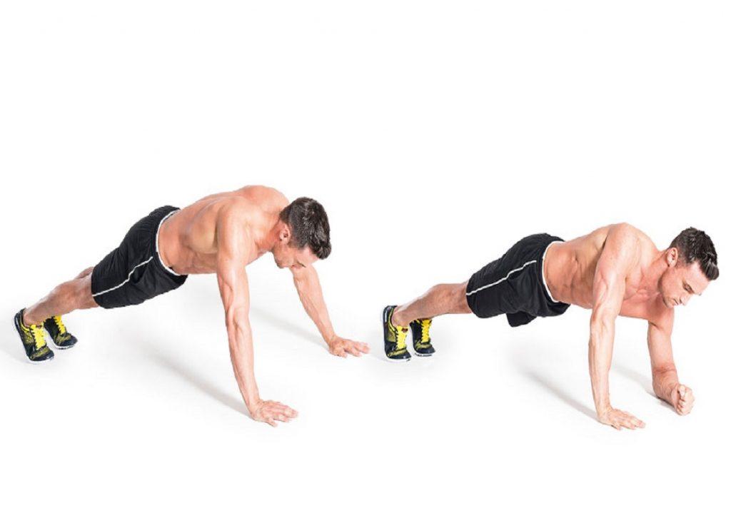 Forearm Plank Bicep Workout