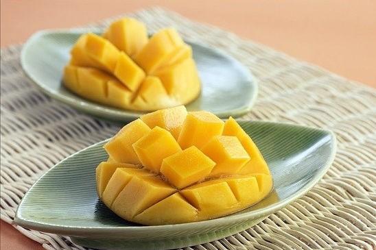 Sliced Mango filled with Mango vitamins