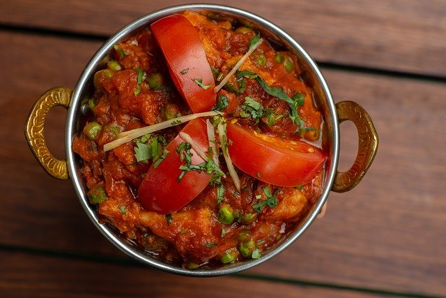 Vegetable curry Indian vegan dishes