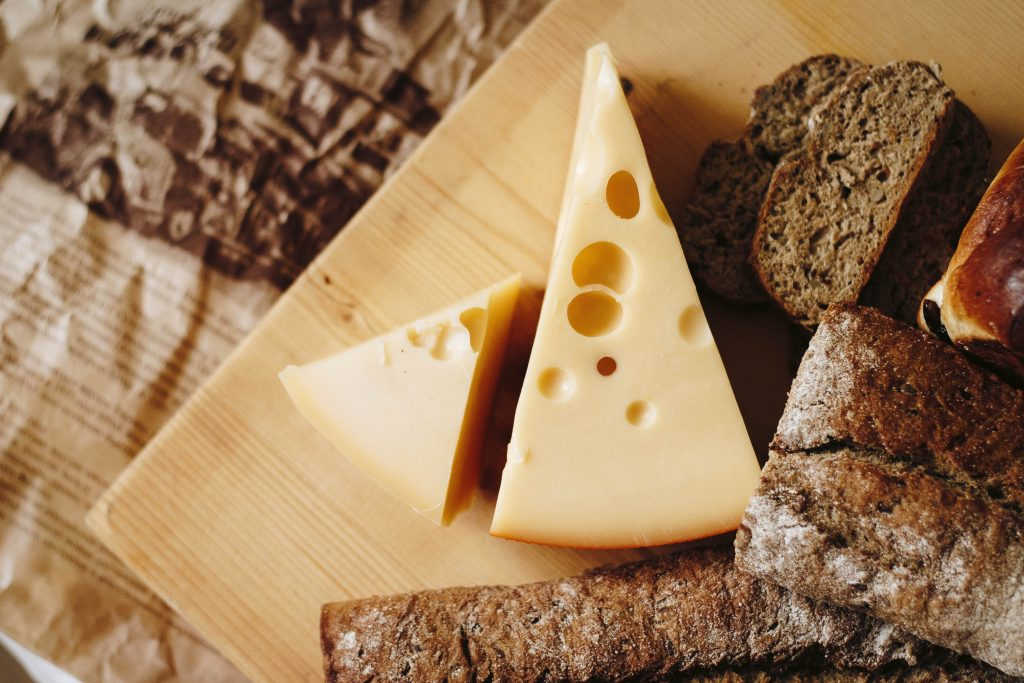 cheese is one of the high calorie foods