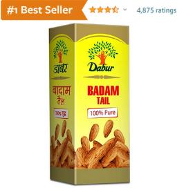 Dabur almond oil for dark circles