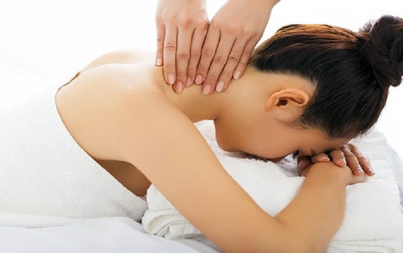 massage to relieve neck pain