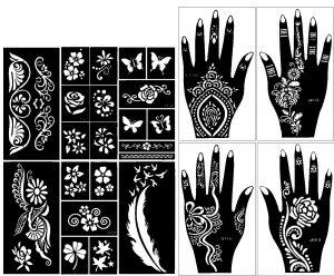 mehndi-stencils-set