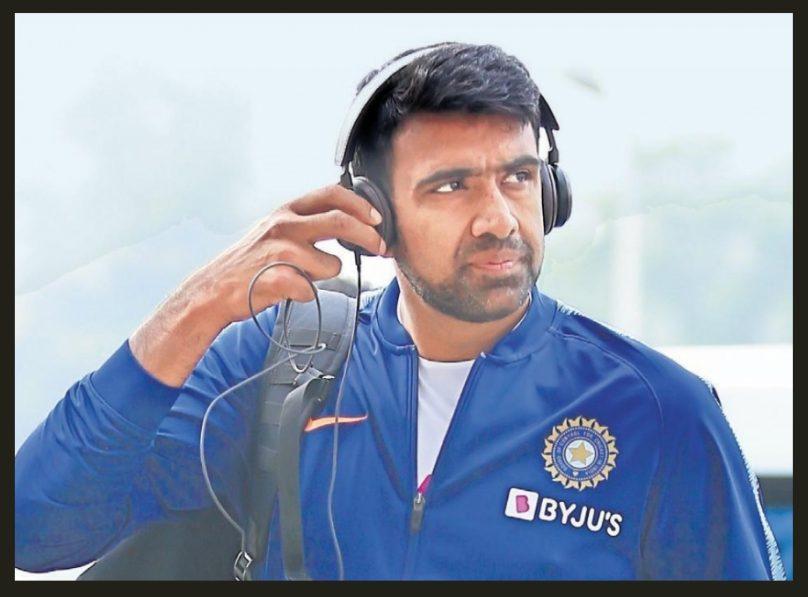 9th richest sportsman ravichandran ashwin wearing headphones