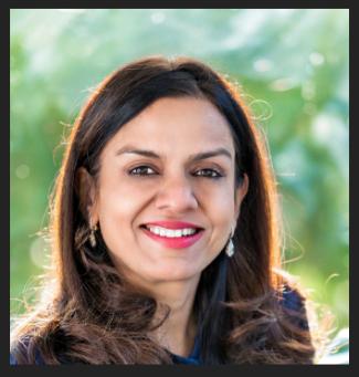 9th richest women Sangita Jindal Smiling in her terrace Garden