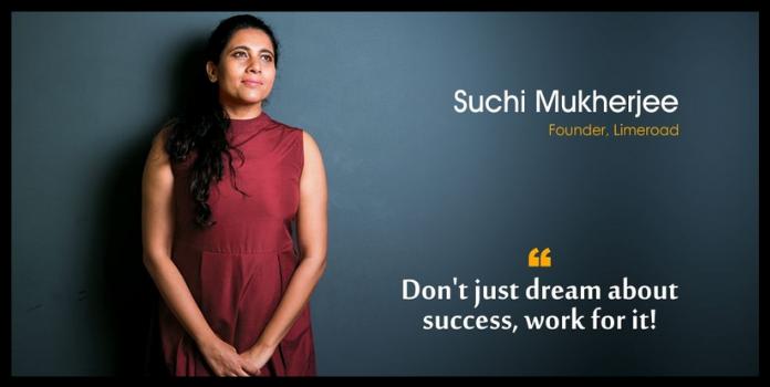 women entrepreneur Suchi Mukherjee with long hairs