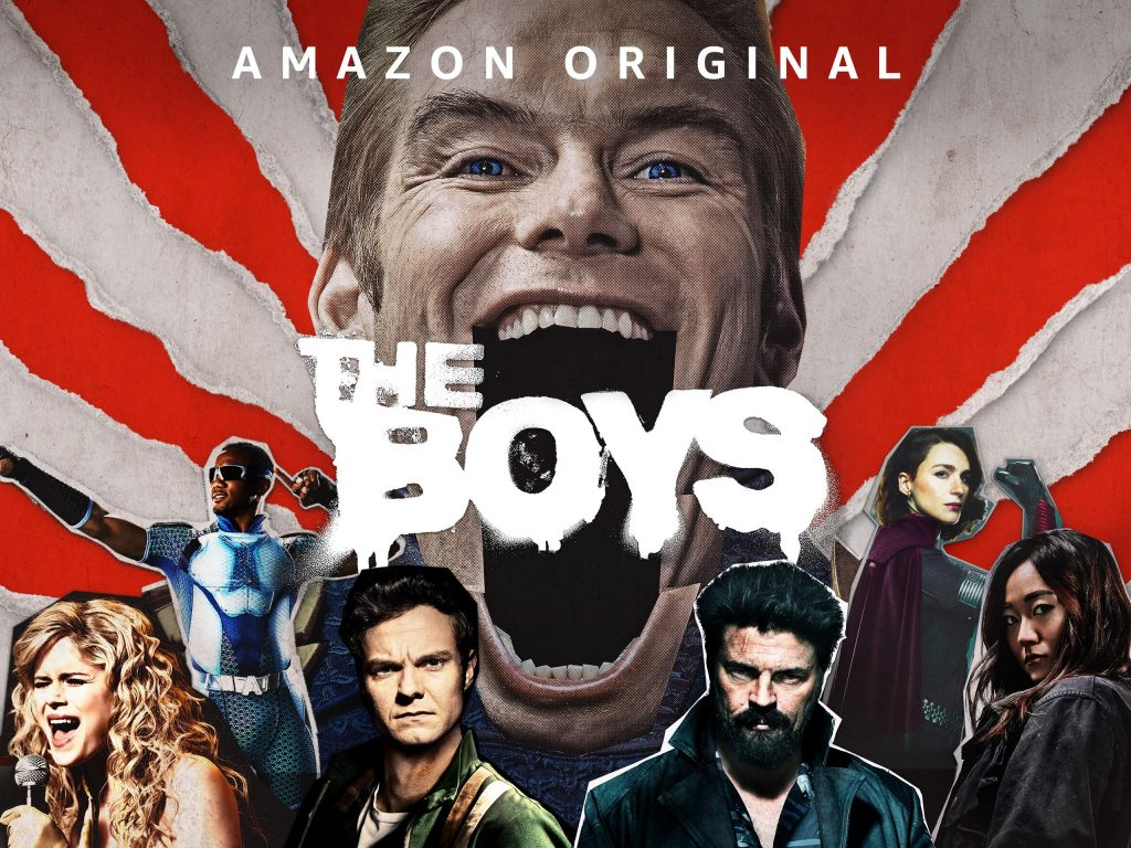 top Trending web Series The boys