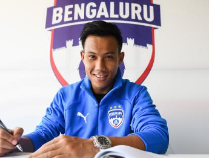 best footballer Udanta Singh in Blue Jacket