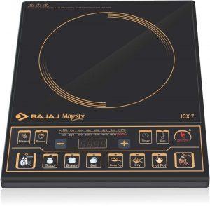 Bajaj Majesty ICX 7 1900-Watt Induction Cooktop - best brand for induction cooktop