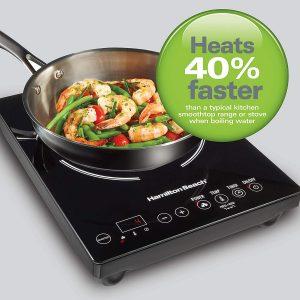 Hamilton Beach 34104 Single Induction 1800 watt Cooktop - 10 best induction cooktops in india