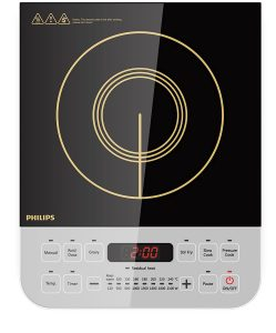Philips Viva Collection HD4928/01 2100-Watt Induction Cooktop - best brand for induction cooktop