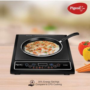 Pigeon by Stovekraft Cruise 1800-Watt Induction Cooktop - 10 Best Induction Cook Tops of India