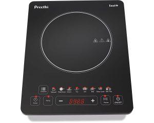 Preethi Excel Plus 117 1600-Watt Induction Cooktop - 10 Best Induction Cook Tops of India