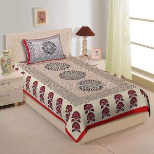 Rajasthani Jaipuri Traditional Bed Sheet