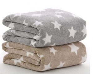 Brandonn ultra soft baby blanket set