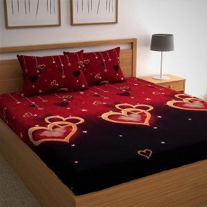 CG HOMES Microfiber Bed Sheet