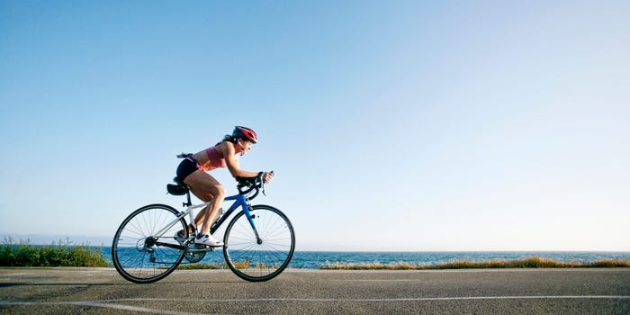 Cycling  for better digestive health